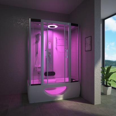 Duschtempel | Badewanne | Tinos | 135 x 80 cm